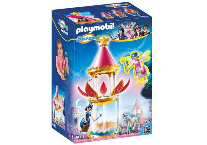 Playmobil torre flor magica con caja musical y twikle 6688