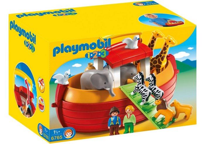 Playmobil 1.2.3 arca de noe maletin 6765