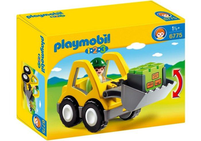 Playmobil 1.2.3 pala 6775