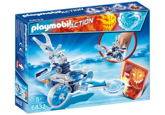 Playmobil frosty con lanzador 6832