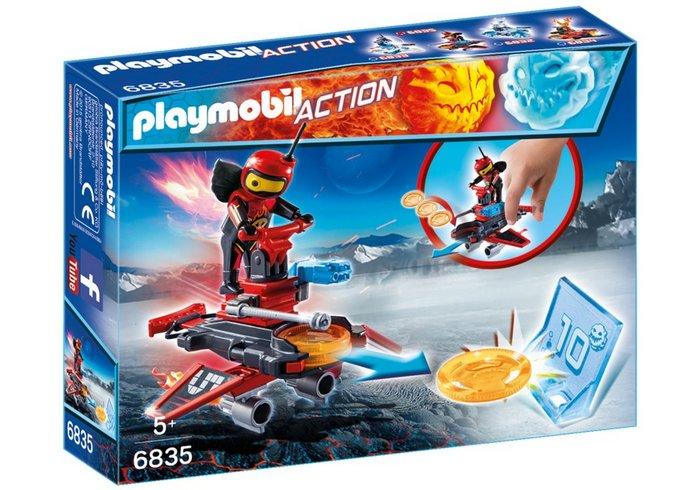 Playmobil robot de fuego con lanzador 6835