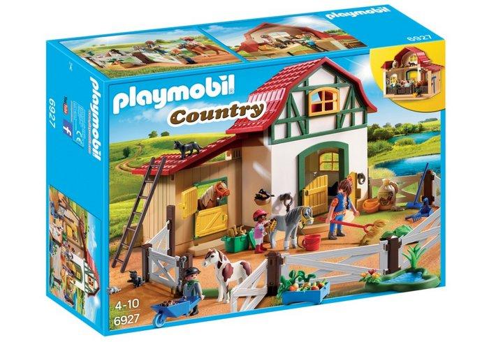 Playmobil granja de ponis 6927