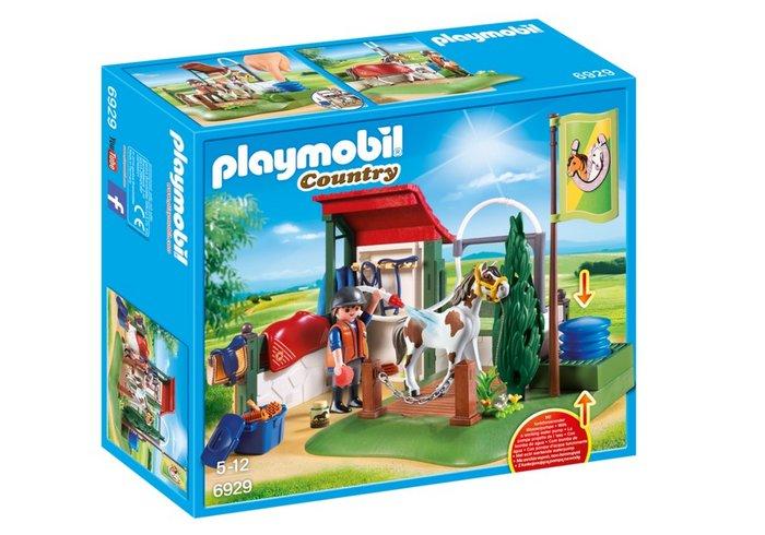 Playmobil set de limpieza para caballos 6929