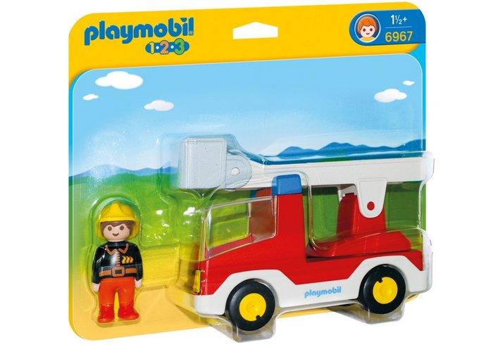 Playmobil 1.2.3 camion de bombero 6967