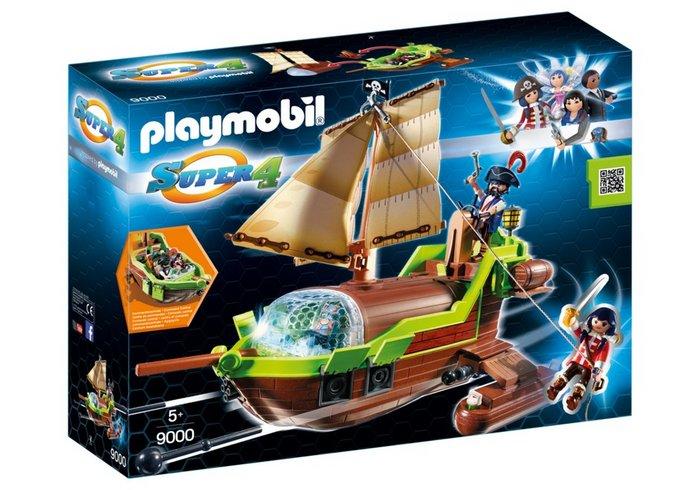 Playmobil barco pirata camaleon con ruby 9000