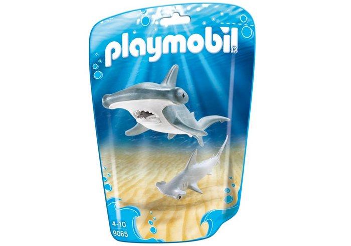 Playmobil tiburon martillo y bebe 9065