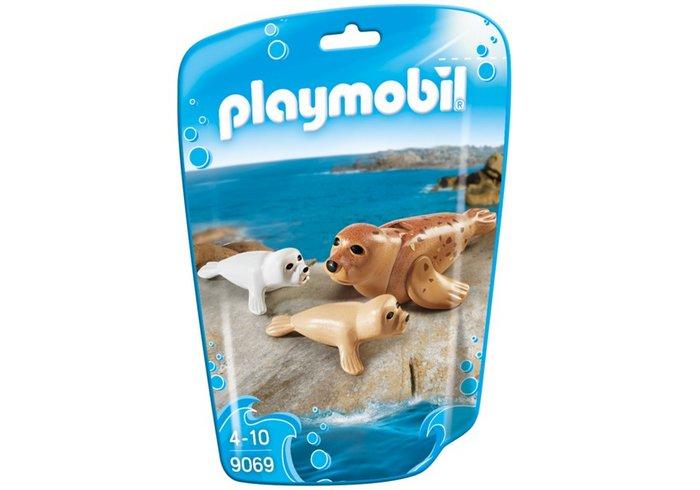 Playmobil foca con bebes 9069