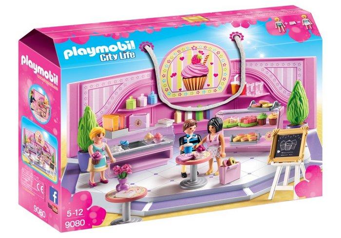 Playmobil cafeteria cupcake 9080