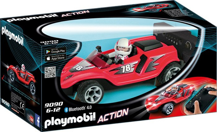 Playmobil racer cohete rc 9090