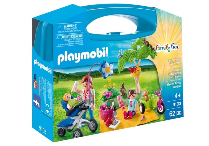 Playmobil maletin grande picnic familiar 9103