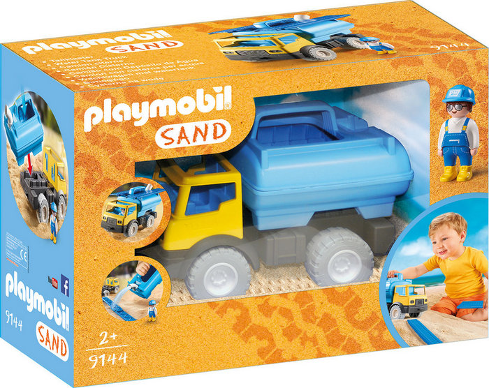 Playmobil camion cisterna 9144