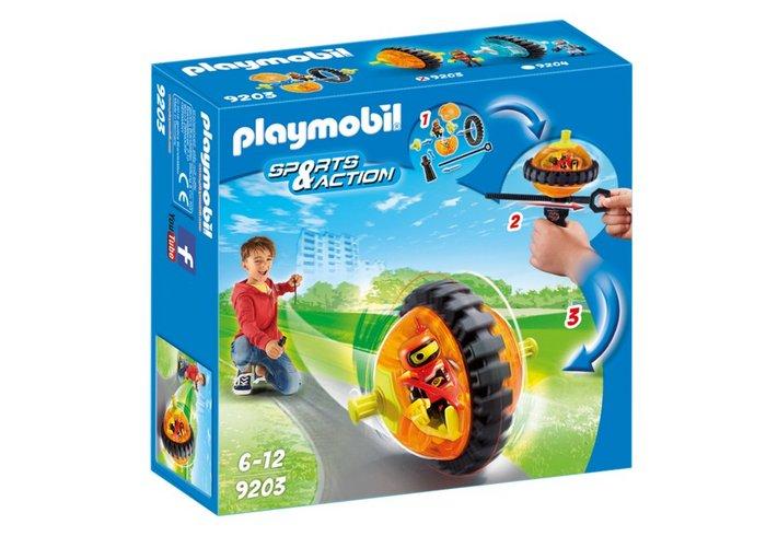 Playmobil speed roller naranja 9203