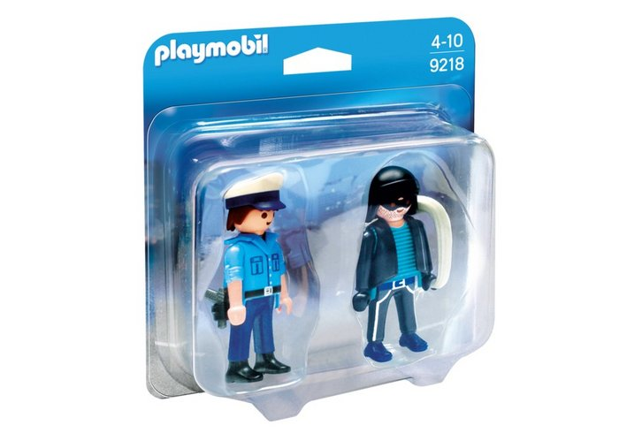 Playmobil duo pack policia y ladron 9218