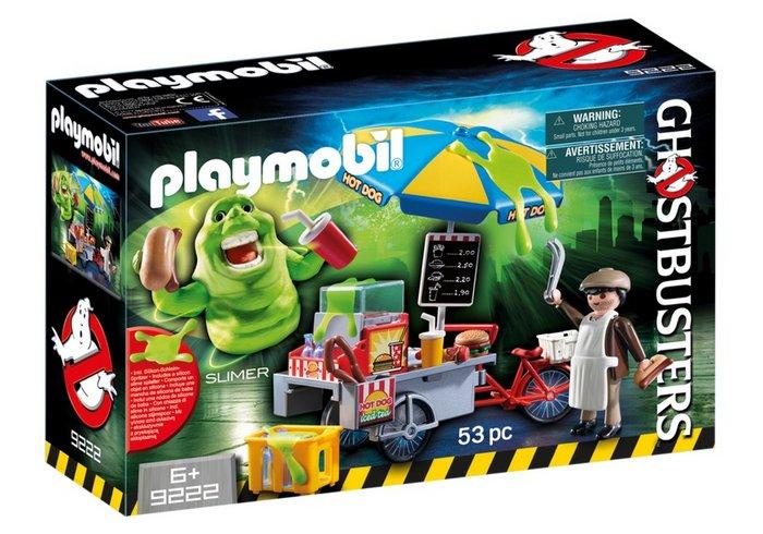 Playmobil slimer con stand de hot dog 9222
