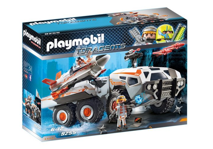 Playmobil camion spy team 9255