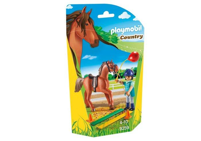 Playmobil terapeuta de caballos 9259
