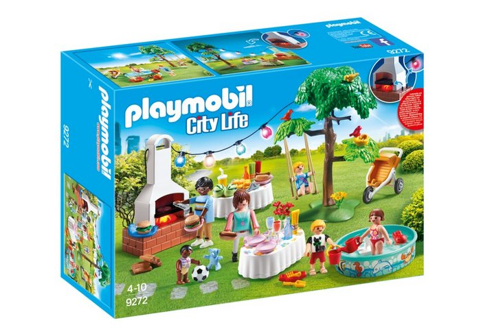 Playmobil fiesta en el jardin 9272