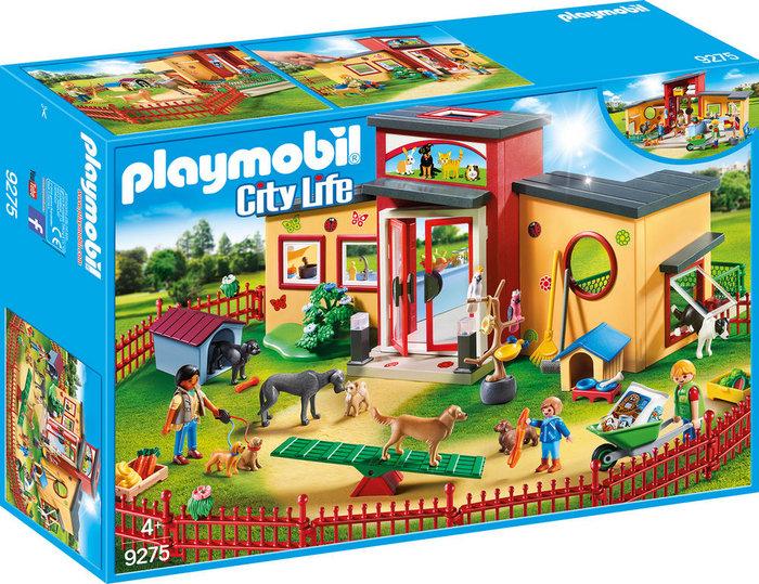 Playmobil hotel de mascotas 9275