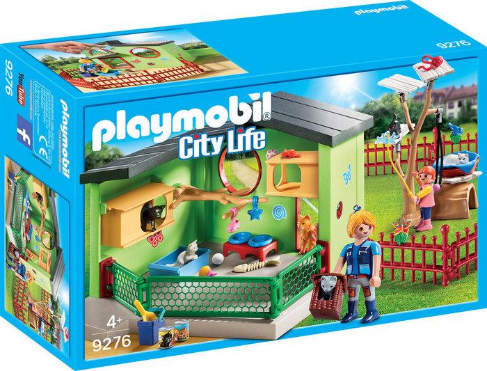 Playmobil refugio para gatos 9276