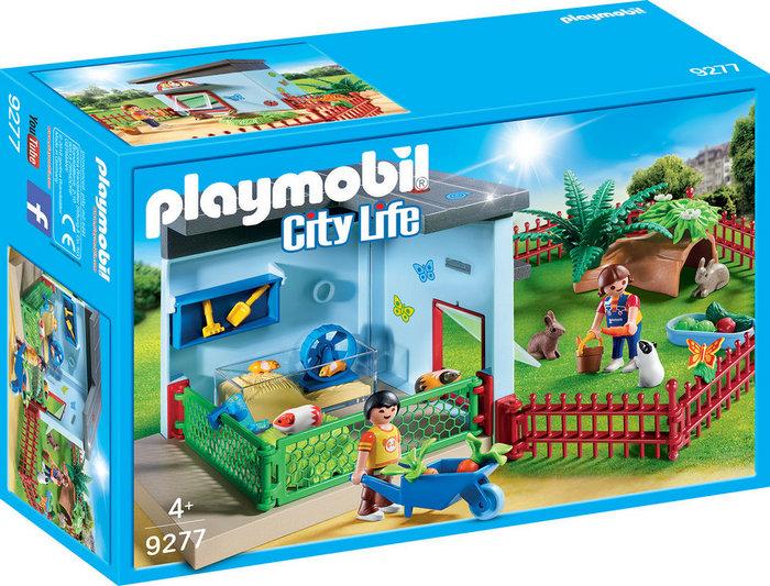Playmobil habitacion pequeÑas mascotas 9277