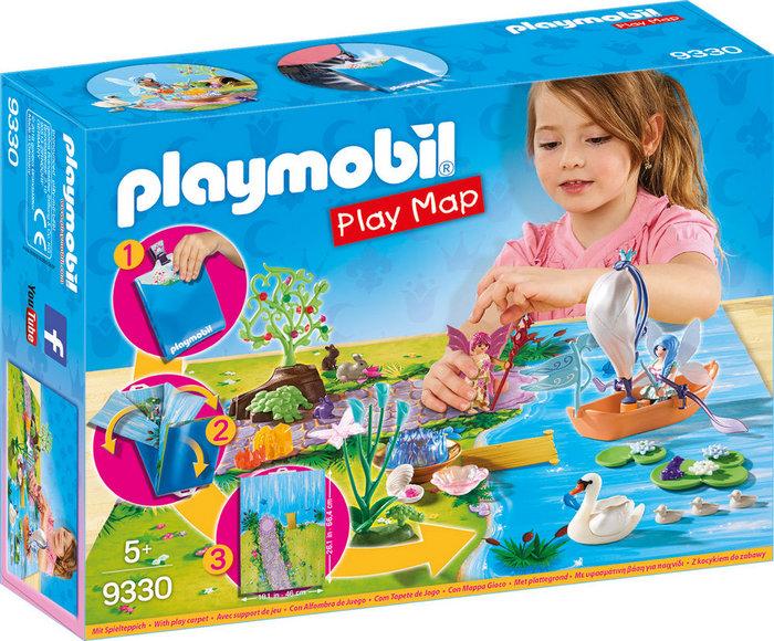 Playmobil play map hadas de jardin 9330