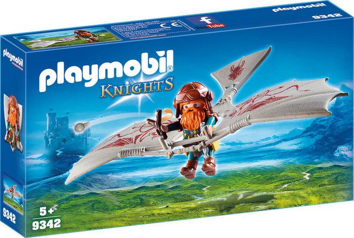 Playmobil enano con maquina voladora 9342