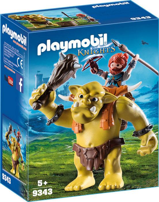 Playmobil trol gigante con enano 9343