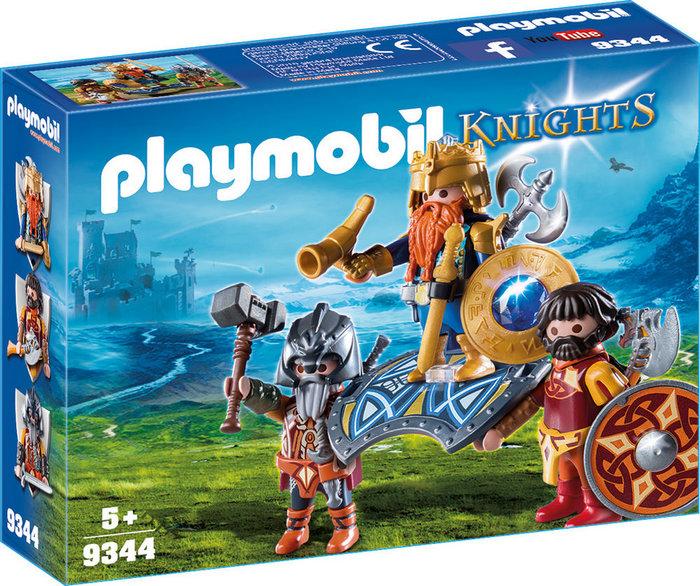 Playmobil rey de los enanos 9344