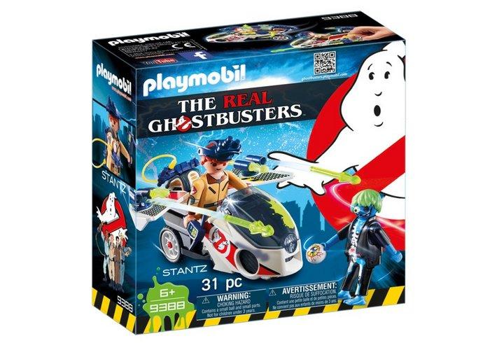 Playmobil cazafantasmas con moto voladora 9388