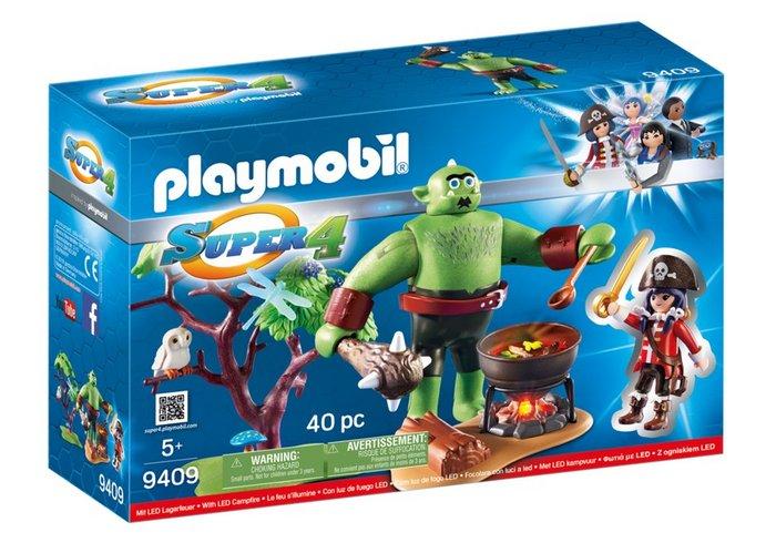 Playmobil ogro con ruby 9409