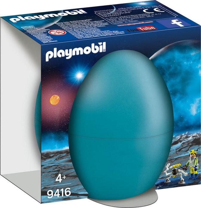 Playmobil agente espacial con robot 9416
