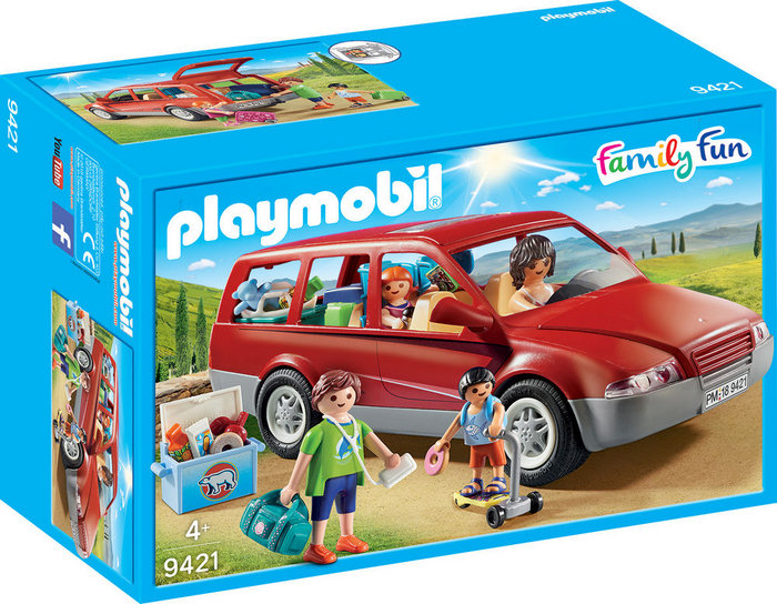 Playmobil coche familiar 9421