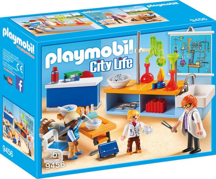 Playmobil clase de quimica 9456