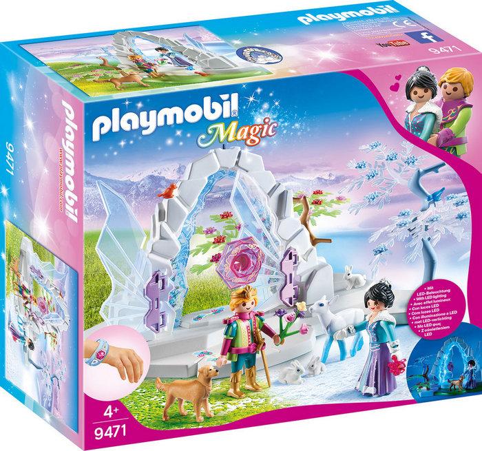 Playmobil portal de cristal al mundo de invierno 9471