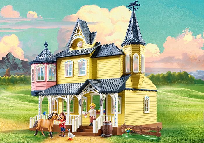 Playmobil casa de fortu 9475