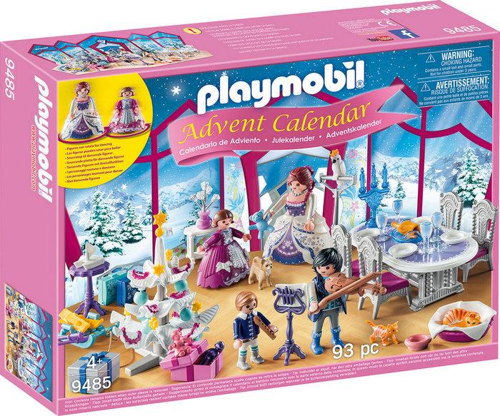 Playmobil c. adviento baile de navidad en salon de cristal
