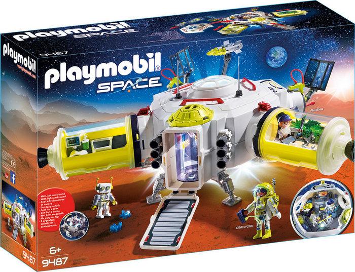 Playmobil estacion de marte 9487