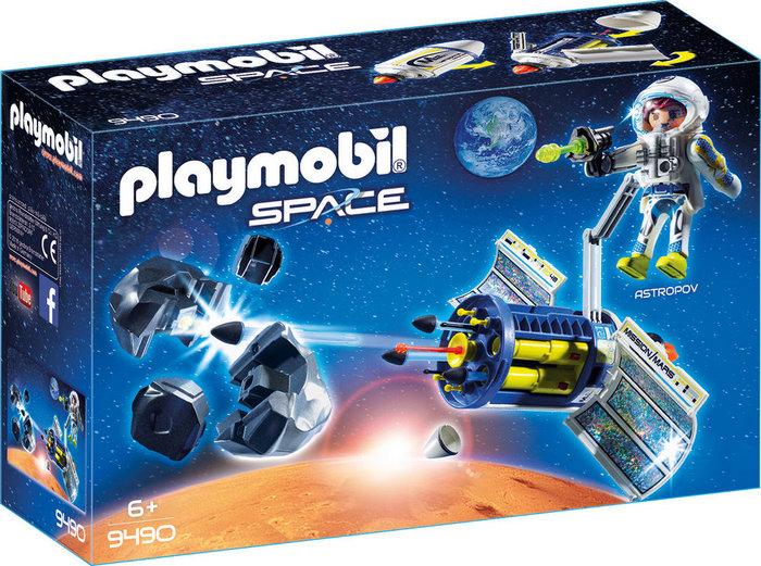 Playmobil satelite con laser para los meteoritos 9490