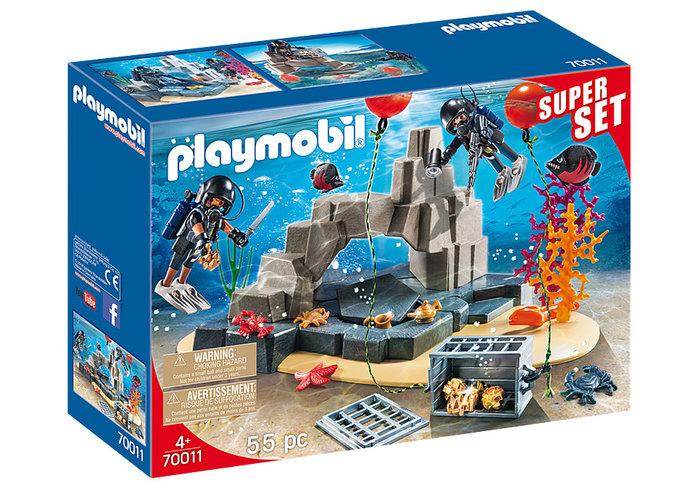 Playmobil superset unidad de buceo