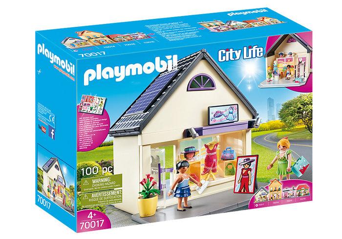 Playmobil mi tienda de moda