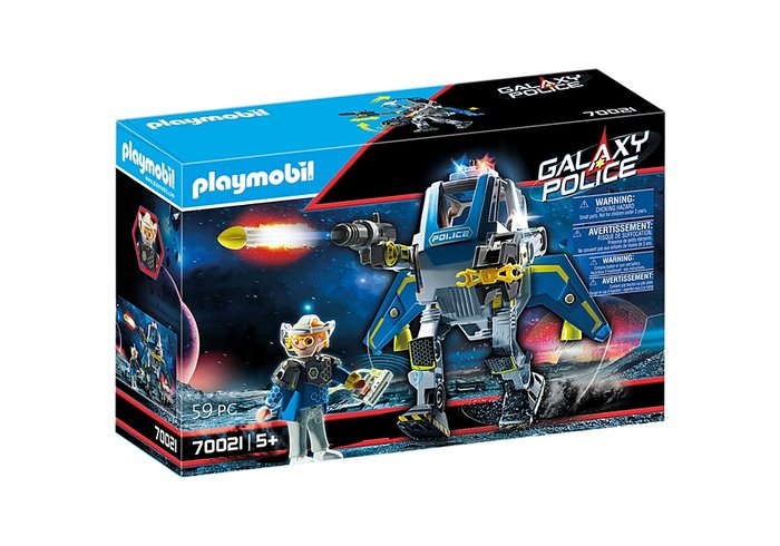 Playmobil policia galactica robot