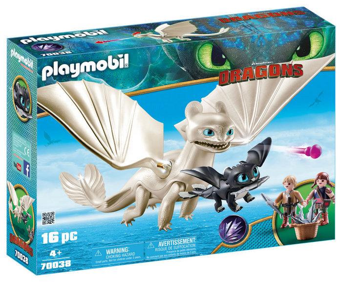 Playmobil set de juego furia diurna 70038
