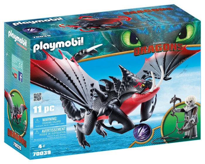 Playmobil aguijon venenoso con crimmel 70039