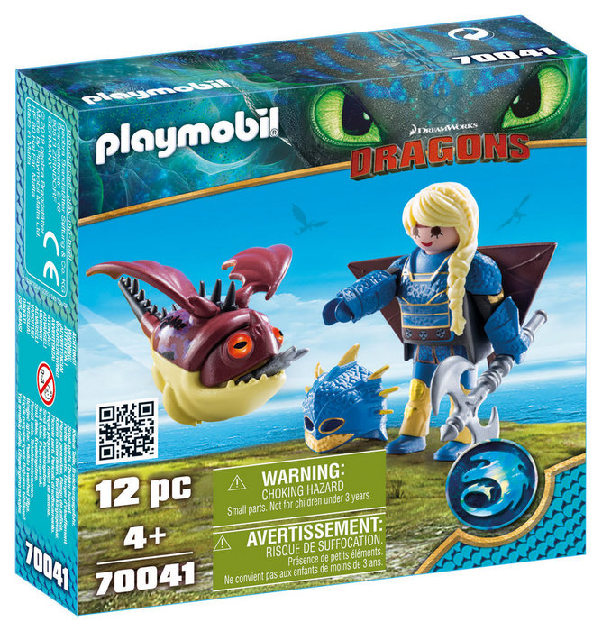 Playmobil astrid con traje volador y globoglob 70041