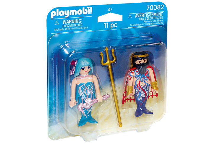 Playmobil duo pack rey del mar y sirena