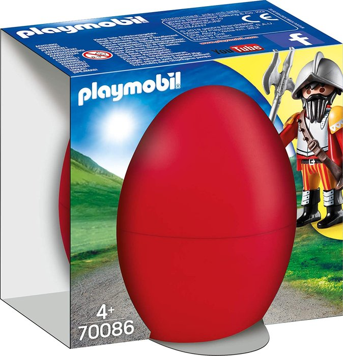 Playmobil caballero con caÑon