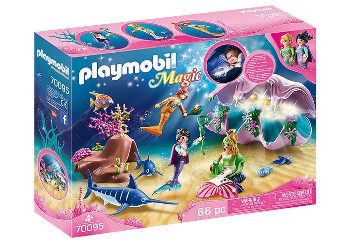 Playmobil concha con luz