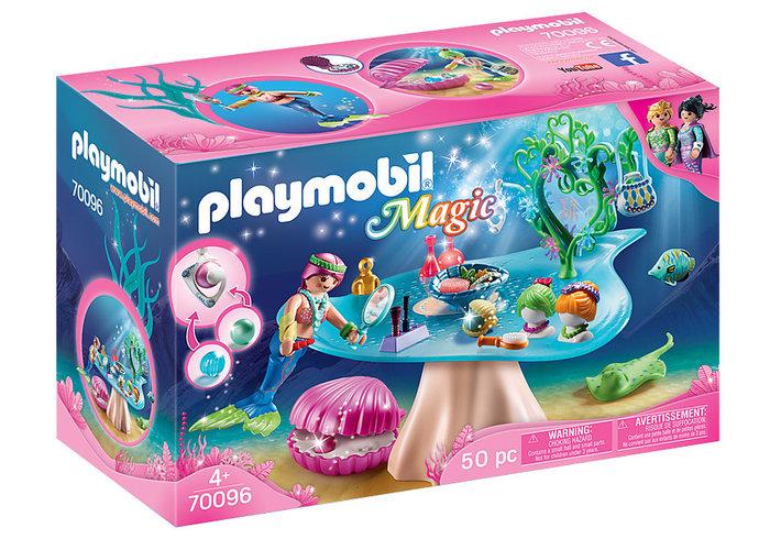 Playmobil salon de belleza con joya