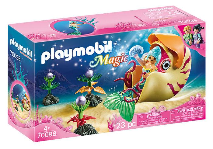 Playmobil sirena con caracol de mar