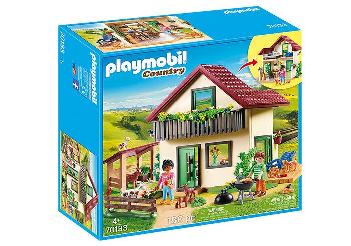 Playmobil casa de campo
